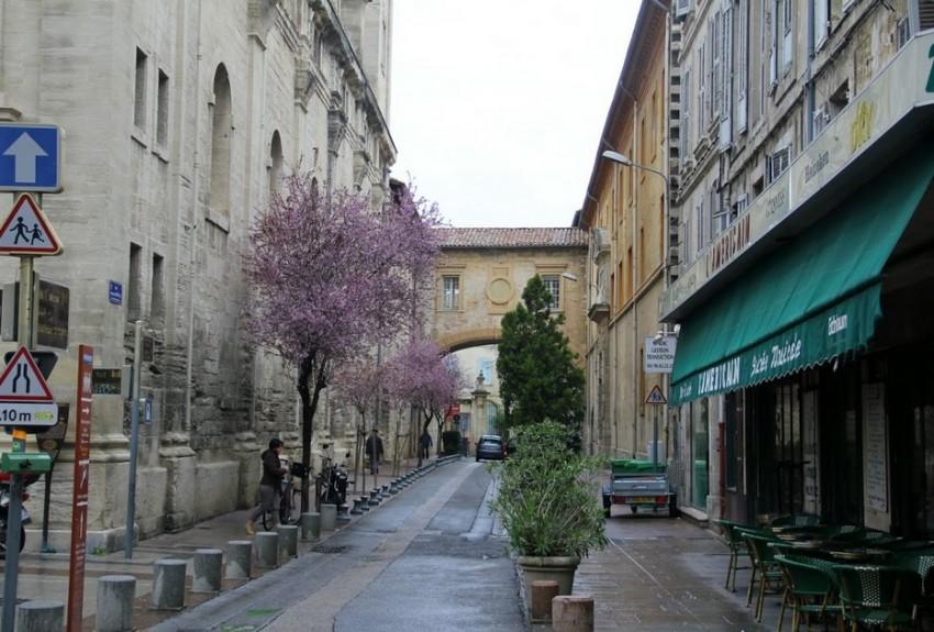 Авиньон улицы