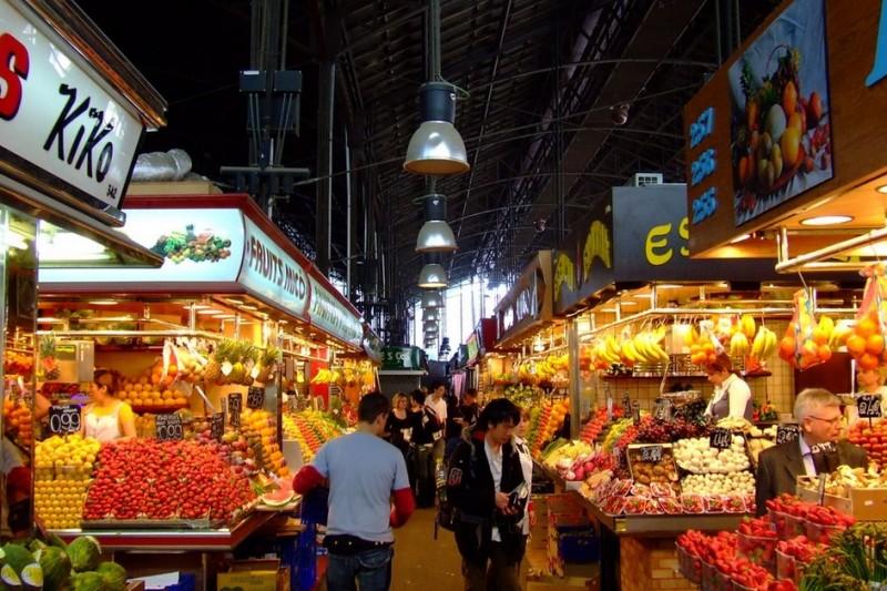 Барселона рынок