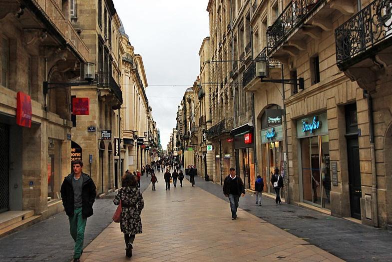 Бордо шоппинг
