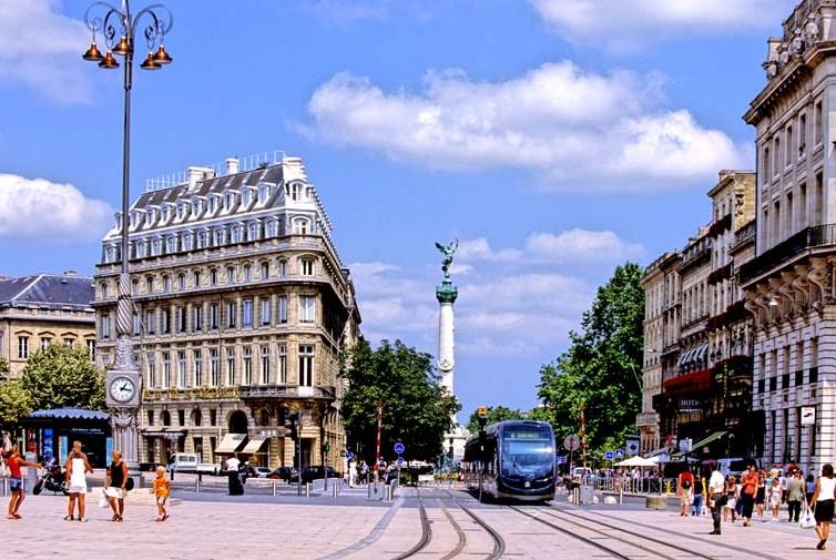 Бордо транспорт