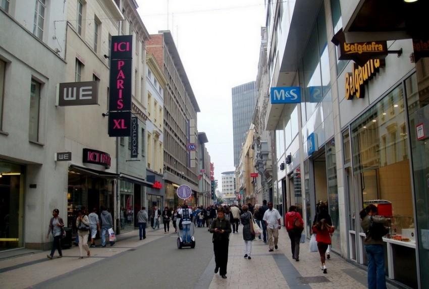 Брюссель Rue Neuve