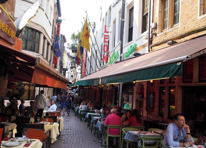 Брюссель кафе Chez Leon