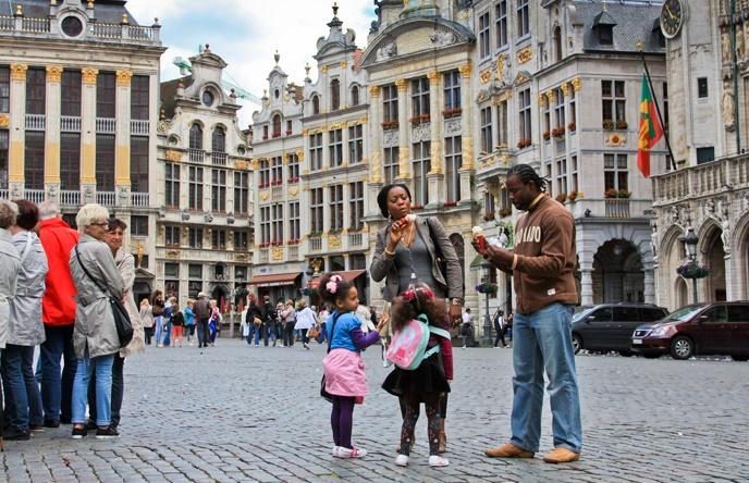 Брюссель местные жители