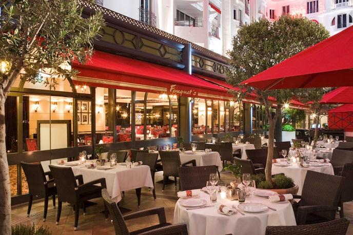 Канны ресторан Le Fouquet's