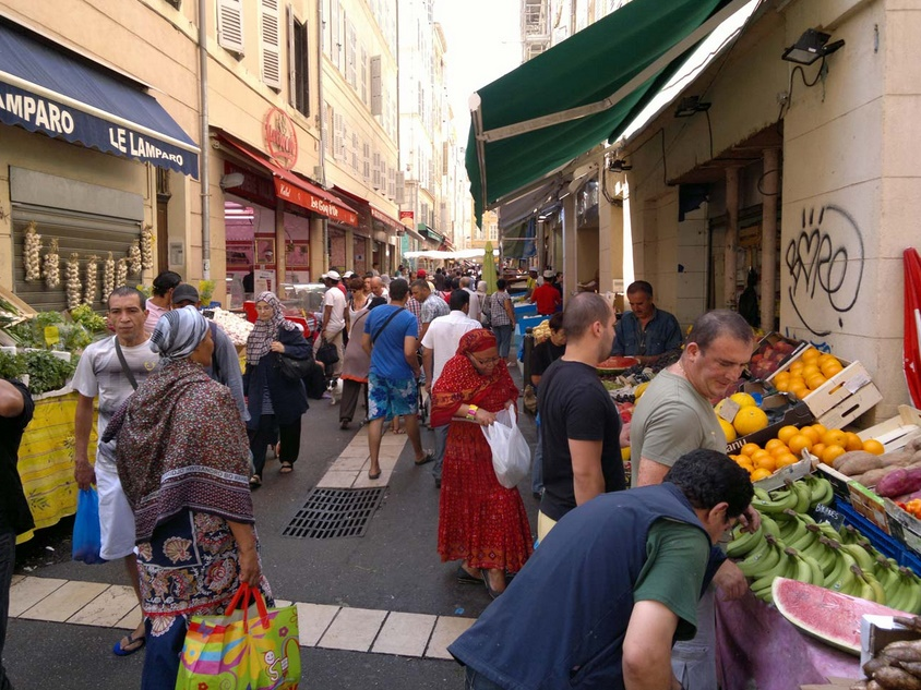 Марсель рынок