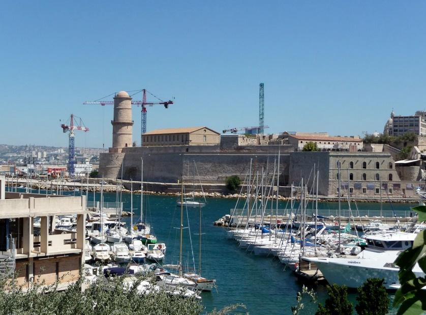 Марсель старый порт
