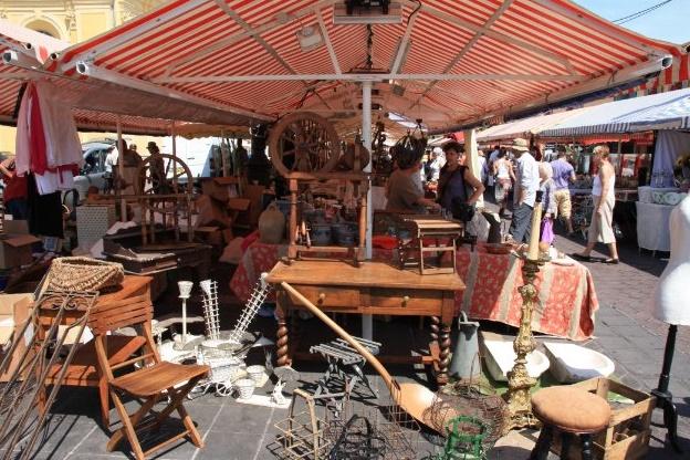 Ницца блошиный рынок