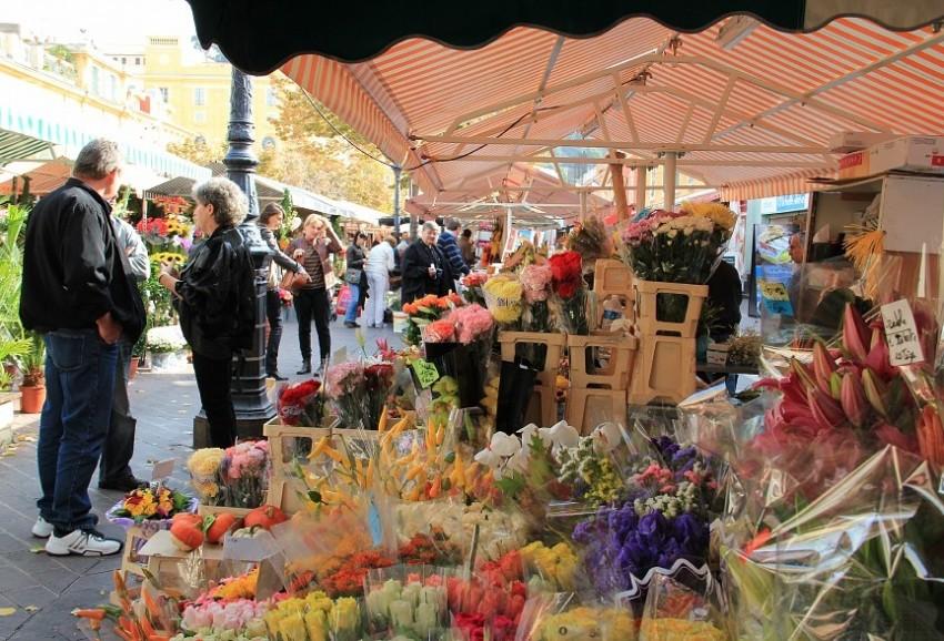 Ницца рынок