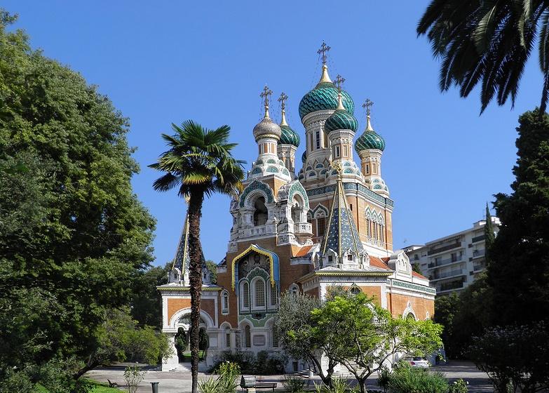 Ницца церковь Св. Николая