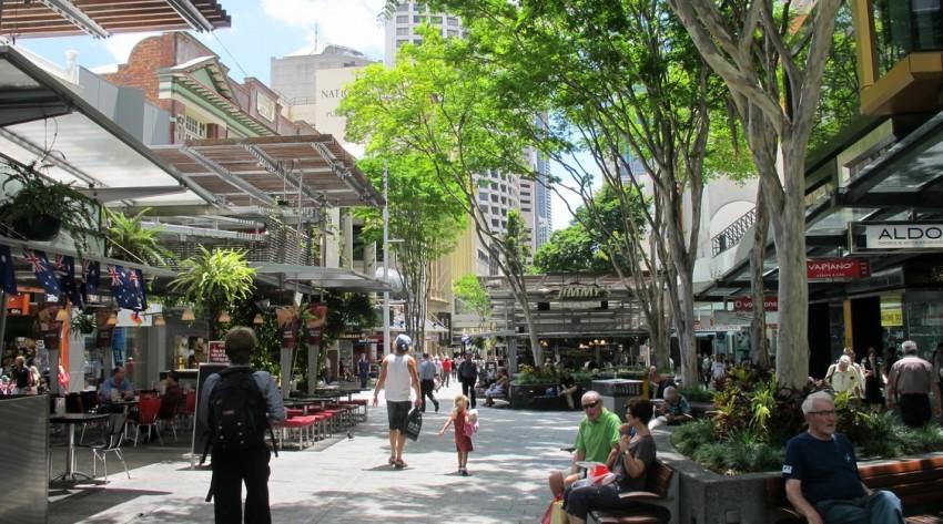 Брисбен Queen Street Mall