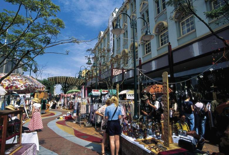 Брисбен Valley Markets