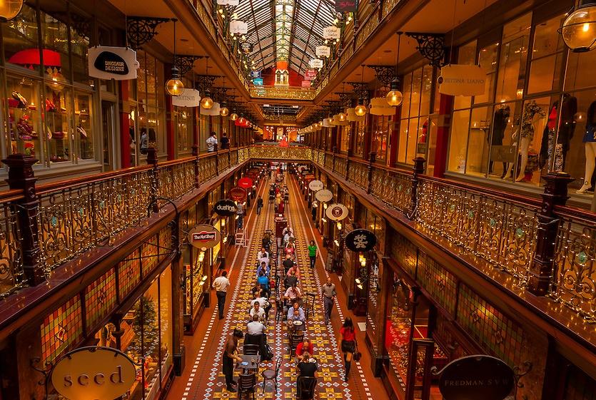 Сидней Strand Arcade