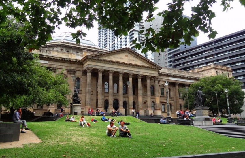 мельбурн библиотека виктории