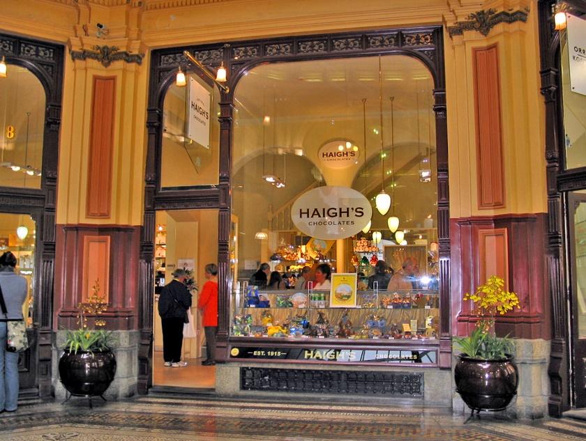 мельбурн магазин Haigh's Chocolates