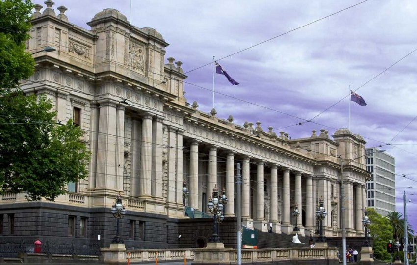 мельбурн здание Парламента штата Виктория