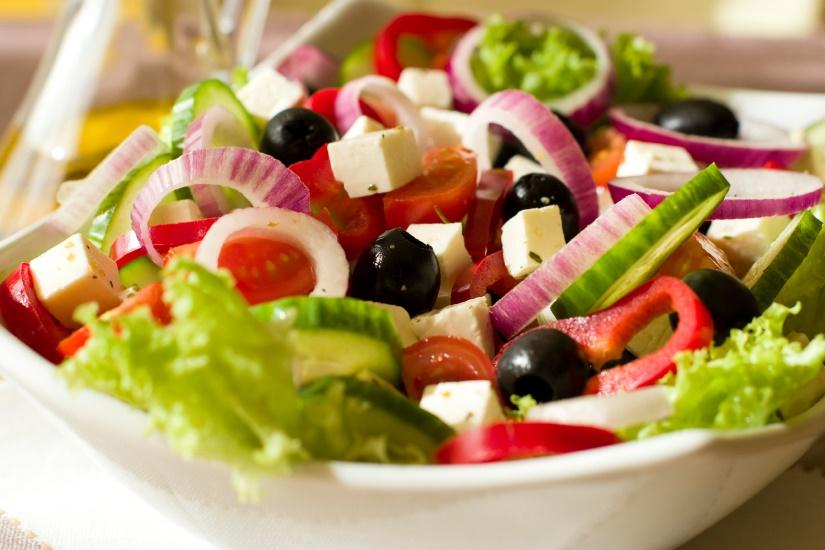 Афины греческий салат