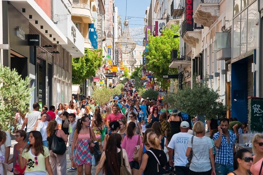 Афины шоппинг