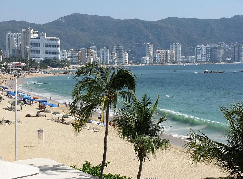 Акапулько пляж калета