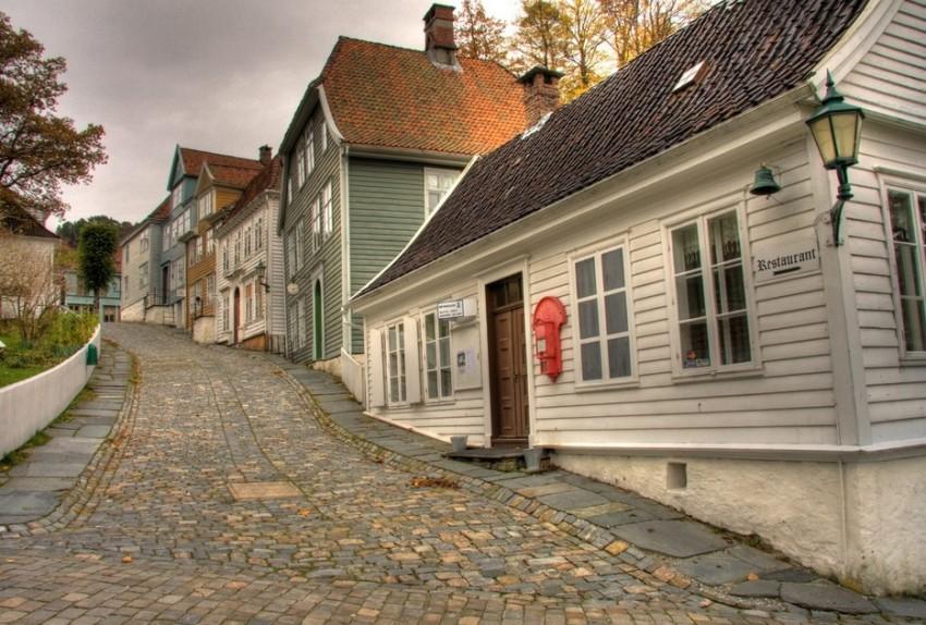 Берген старый город