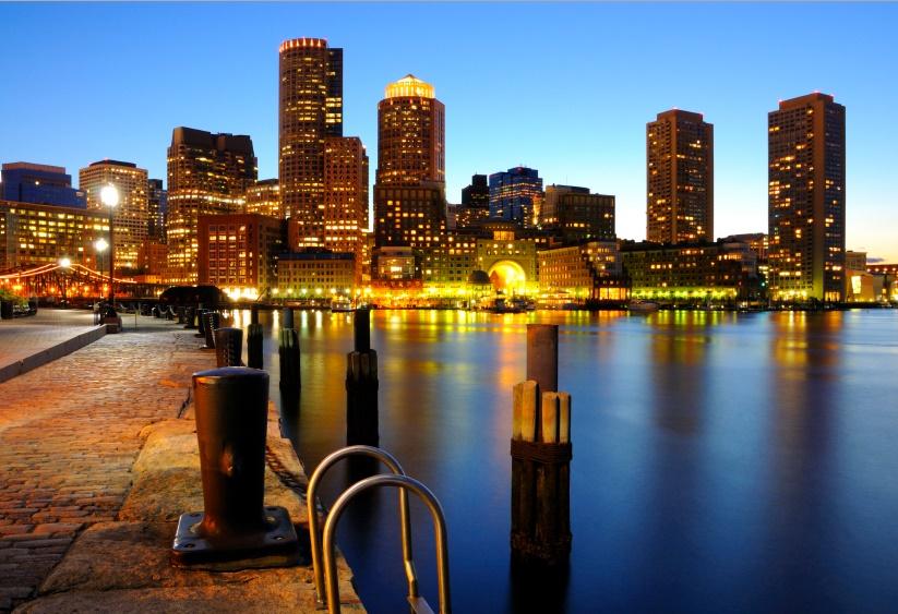 Бостон Набережная Charles river