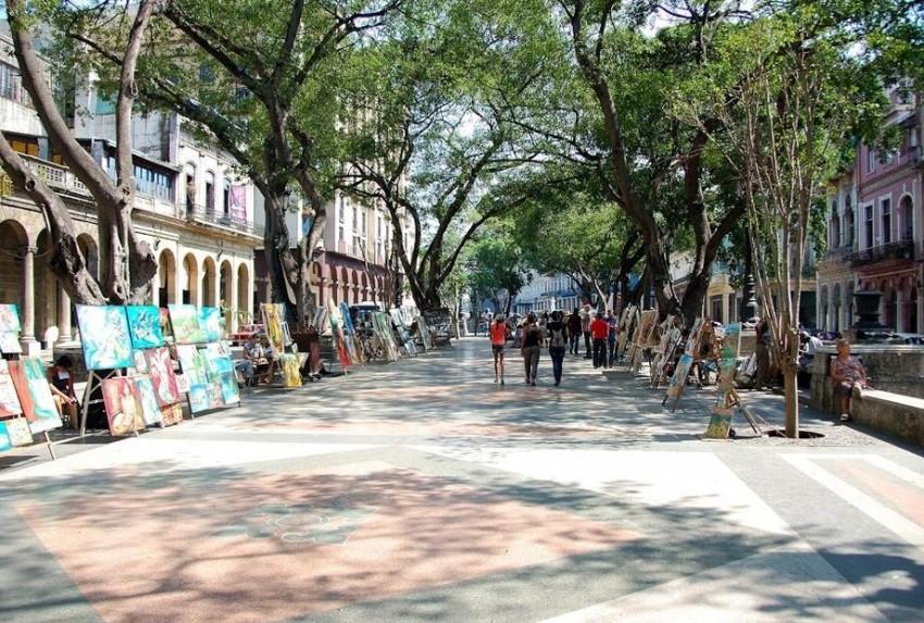 Гавана бульвар прадо