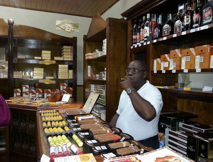 Гавана сигары и ром
