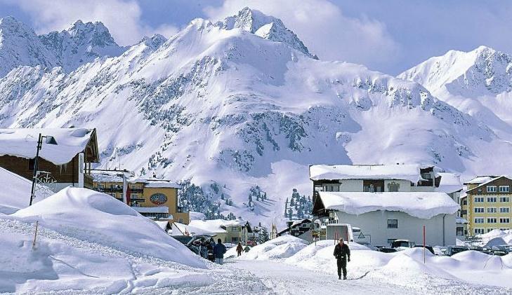 Инсбрук горные лыжи