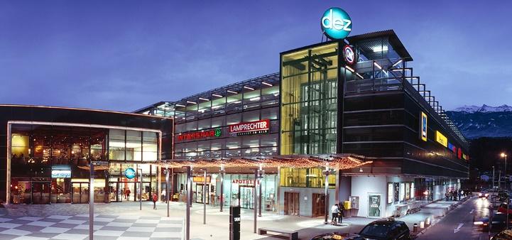 Инсбрук торговый центр DEZ
