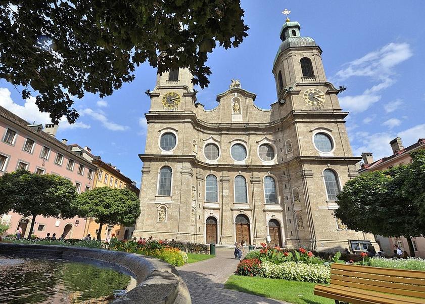 Инсбрук церковь Святого Якова