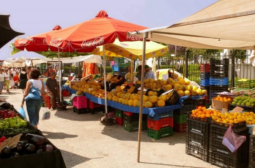 Корфу базар