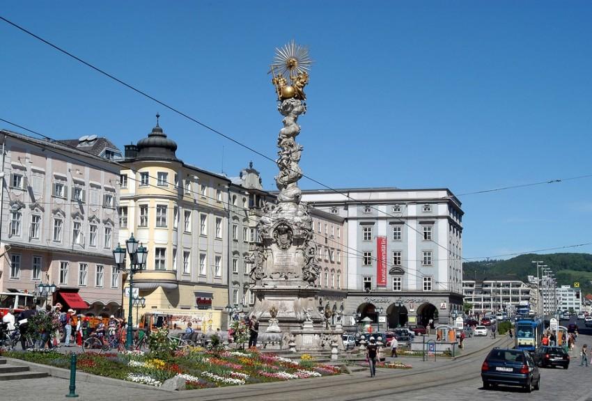 Линц Hauptplatz