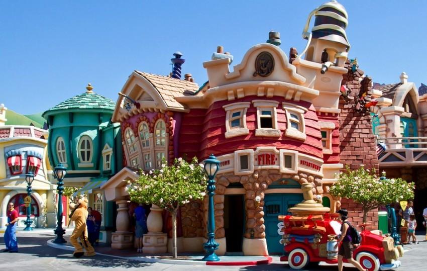 Лос-Анджелес Disneyland