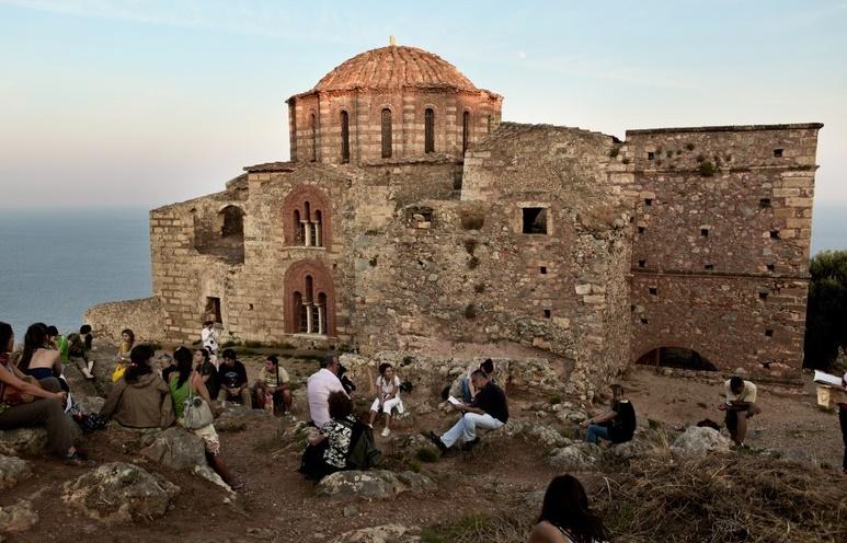 Монемвасия храм Пресвятой Софии