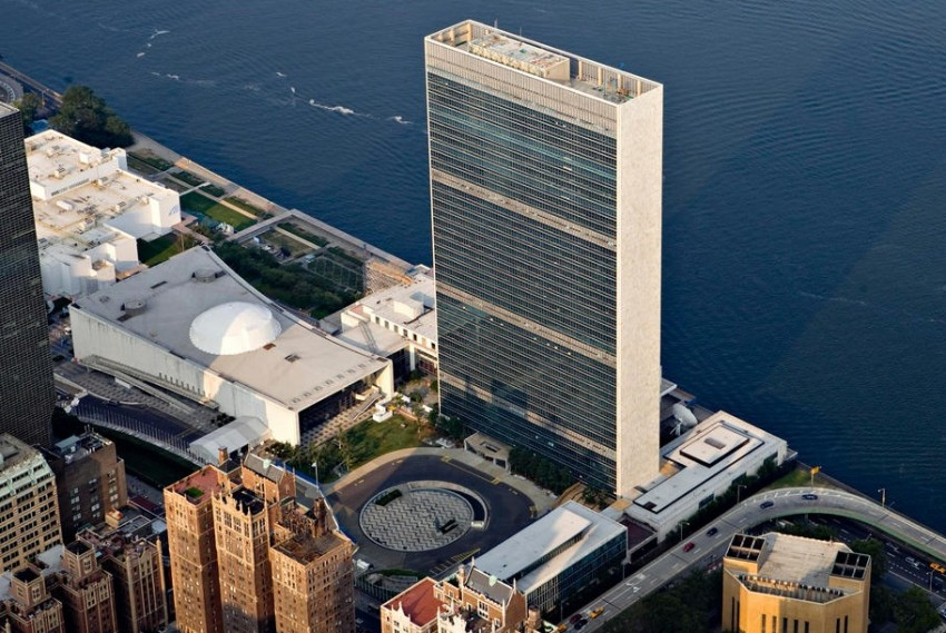Нью-Йорк квартира ООН