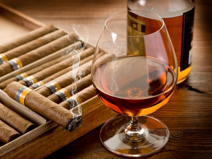 Ольгин сигары и ром