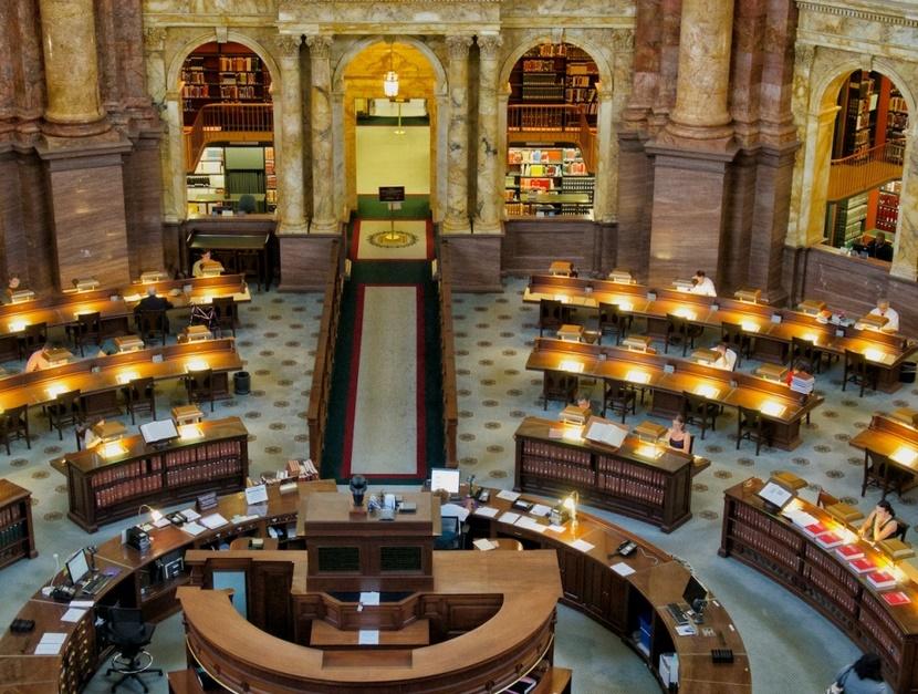 Вашингтон бибилотека конгресса