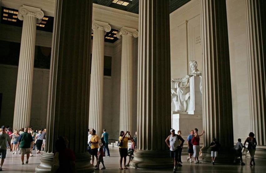 Вашингтон мемориал авраама линкольна