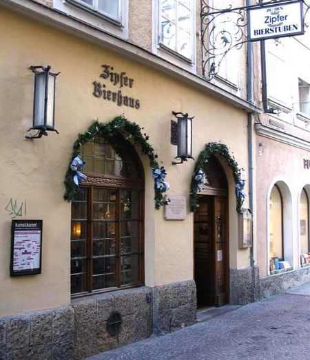 Зальцбург Zipfer Bierhaus