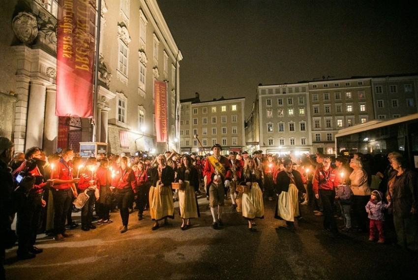 Зальцбург музыкальный фестиваль