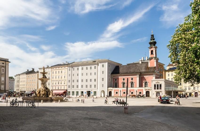 Зальцбург резиденция архиепископа