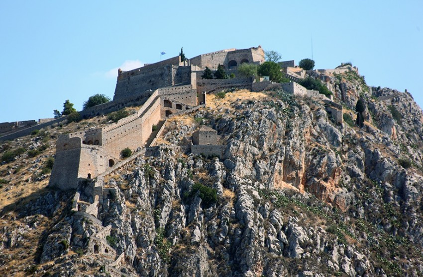 Нафплион крепость паламиди