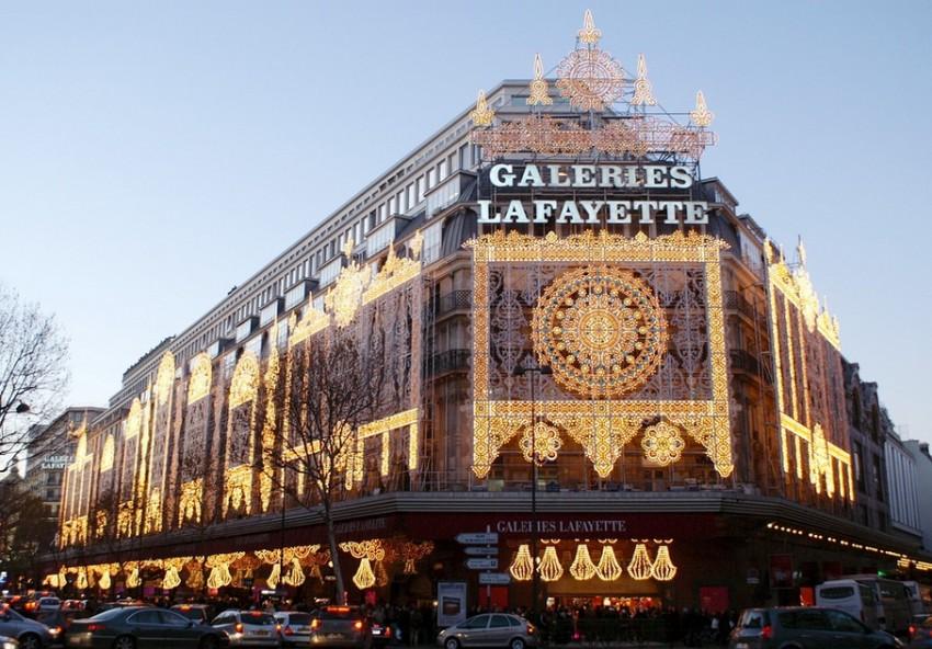 Париж Galeries LaFayette