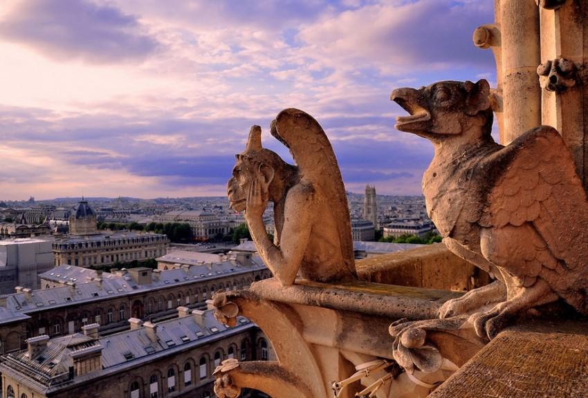 Париж памятники архитектуры