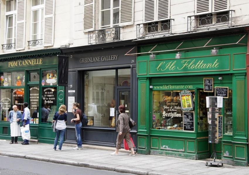 Париж распродажи