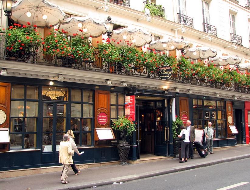 Париж рестораны