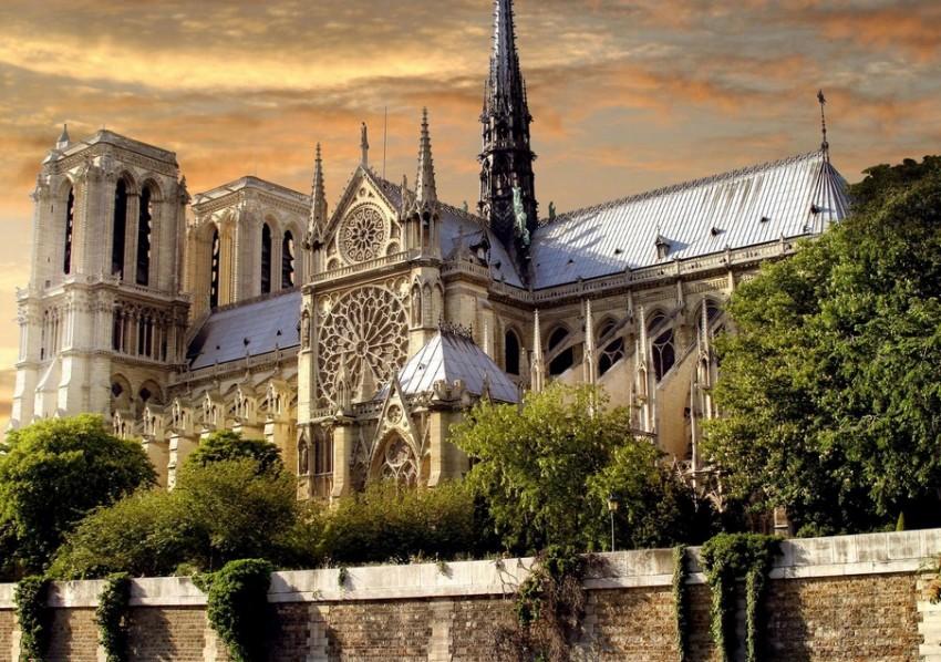 Париж собор парижской Богоматери