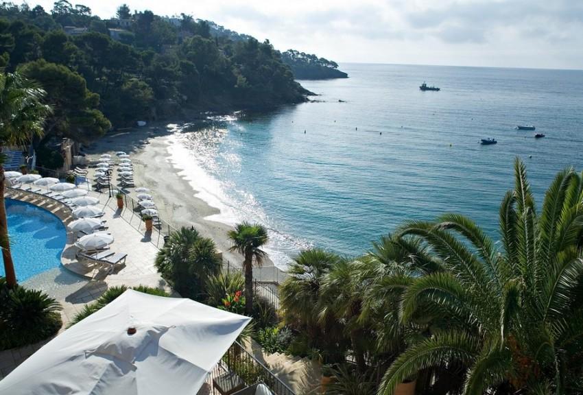 Сен-Тропе парусная пляжи