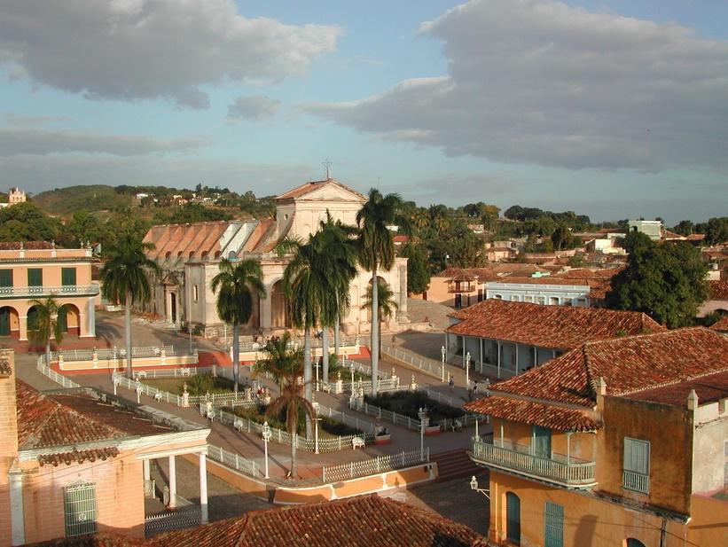 Тринидад архитектура