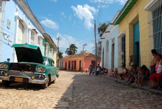 Тринидад улицы